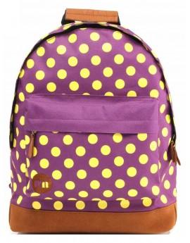 Mi-Pac Backpack All Polka Purple