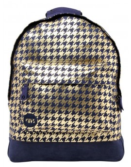 Mi-Pac Backpack Houndstooth Navy