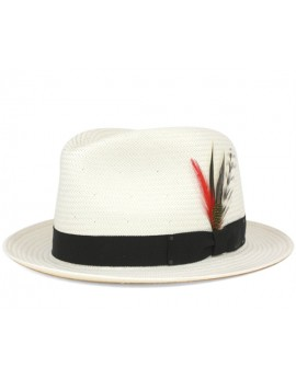 Palarie Bailey of Hollywood Guthrie LiteStraw Natural Negru