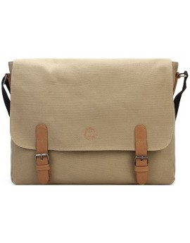 Geanta Mi-Pac Messenger Canvas Bej