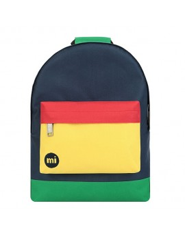 Mi-Pac Backpack Colour Block Navy-Red
