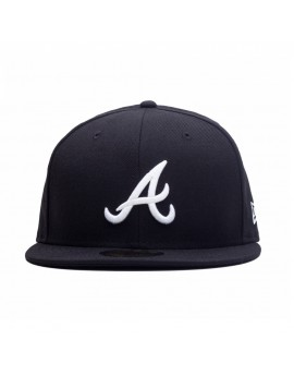 New Era 59Fifty Atlanta Braves Black