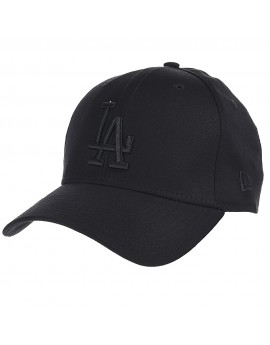 New Era 39thirty MLB Los Angeles Dodgers Allblack