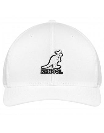 Kangol 3D Wool Flexfit Baseball White