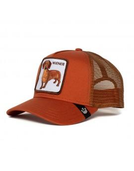 Goorin Bros. Trucker Wiener Dawg Orange Rust