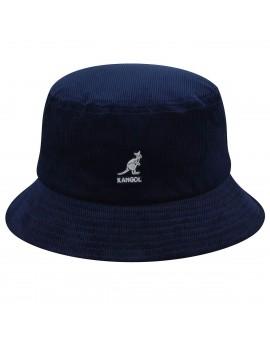 Kangol Cord Bucket Navy