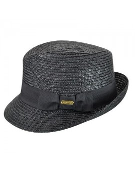 Kangol Wheat Braid Arnold Trilby Black