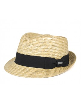 Kangol Wheat Braid Arnold Trilby Natural