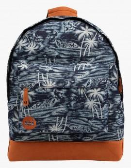 Mi-Pac Backpack Denim Palm Indigo