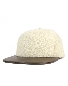 Kangol Faux Sherpa Links Natural