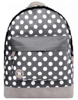 Mi-Pac Backpack All Polka Charcoal