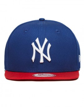 New Era MLB New York Yankees Block Snapback Royal
