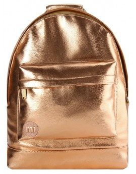 Mi-Pac Backpack Metallic Rose Gold