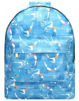 Mi-Pac Gold Backpack French Riviera Blue