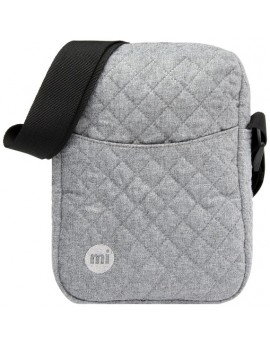 Mi-Pac Flight Bag Quilted Grey
