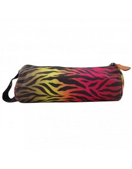 Mi-Pac Pencil Case Zebra Rainbow