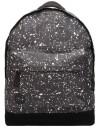 Mi-Pac Backpack Splattered Black-White