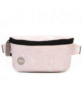 Mi-Pac Gold Bum Bag Splattered Pink