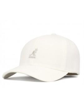 Kangol Wool Flexfit Baseball White