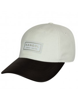 Kangol Gold Baseball White