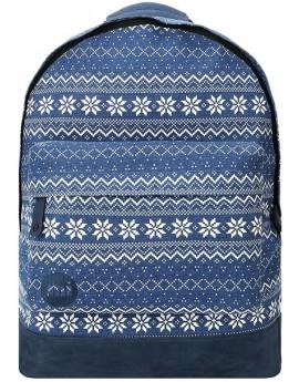 Mi-Pac Backpack Fairisle Navy