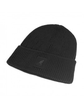 Kangol Patch Beanie Black