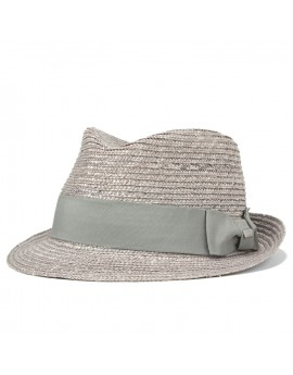 Kangol Wheat Braid Arnold Trilby Grey