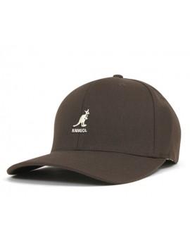 Kangol Wool Flexfit Baseball Brown