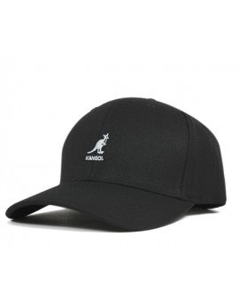 Kangol Wool Flexfit Baseball Black
