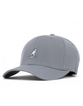 Kangol Wool Flexfit Baseball Grey
