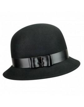 Betmar Mary Cloche Hat Black