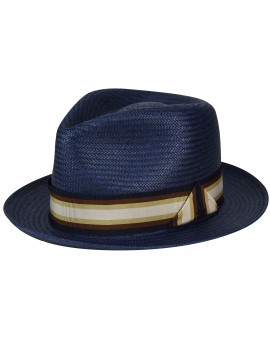 Bailey of Hollywood Dumont LiteStraw Navy