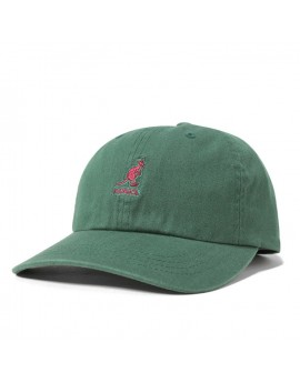 Kangol Washed Cotton Adjustable Baseball Algae
