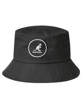 Kangol Cotton Bucket Black