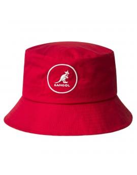 Kangol Cotton Bucket Rojo
